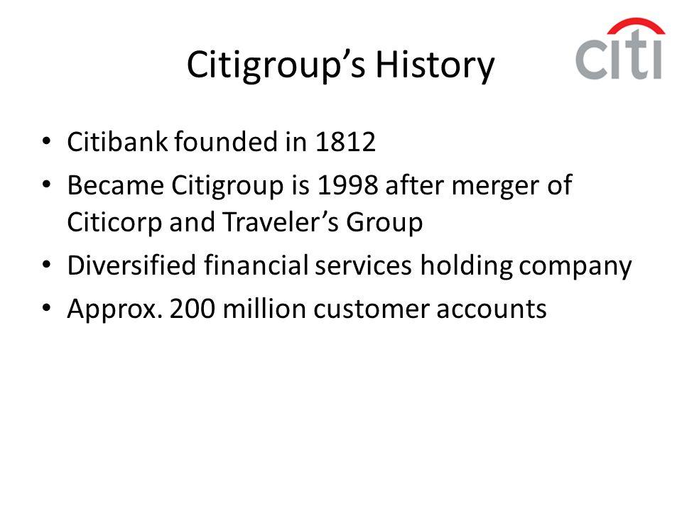 Citi's revenue and net income