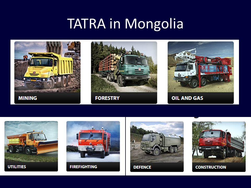 TATRA in Mongolia