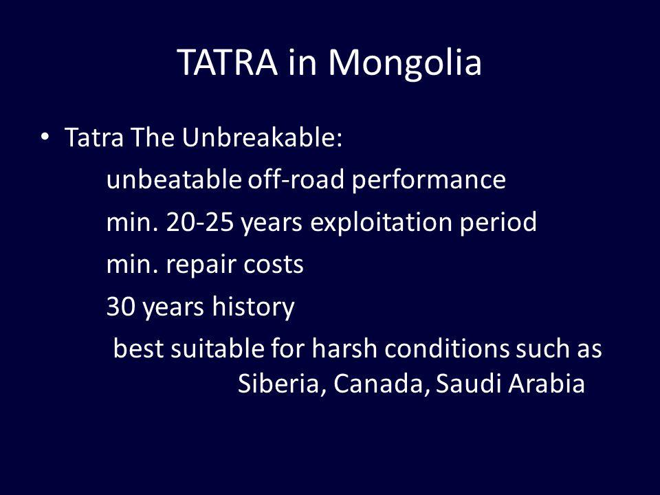 Tatra The Unbreakable: unbeatable off-road performance min.