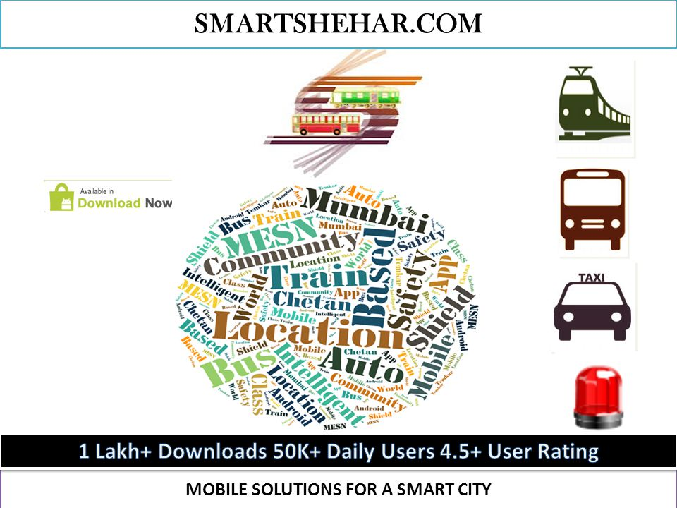 MOBILE SOLUTIONS FOR A SMART CITY SMARTSHEHAR.COM