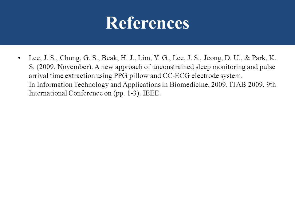 Lee, J.S., Chung, G. S., Beak, H. J., Lim, Y. G., Lee, J.