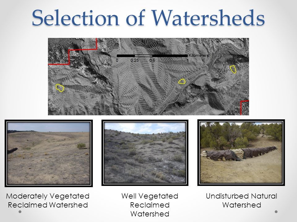 Objective 1 Evaluate the effectiveness of geomorphic reclamation at producing conditions that closely mimic those found in natural analog basins and channels