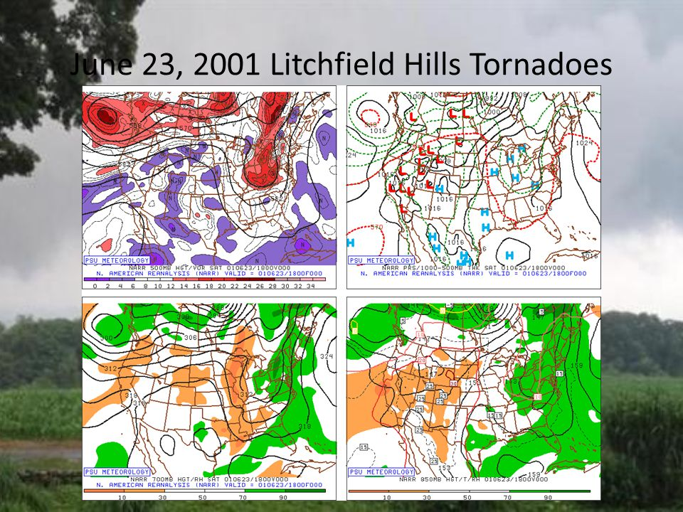 June 23, 2001 Litchfield Hills Tornadoes