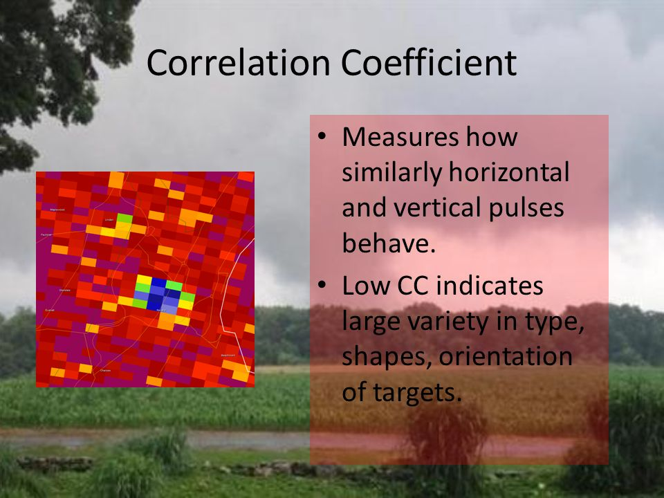 Correlation Coefficient Measures how similarly horizontal and vertical pulses behave.