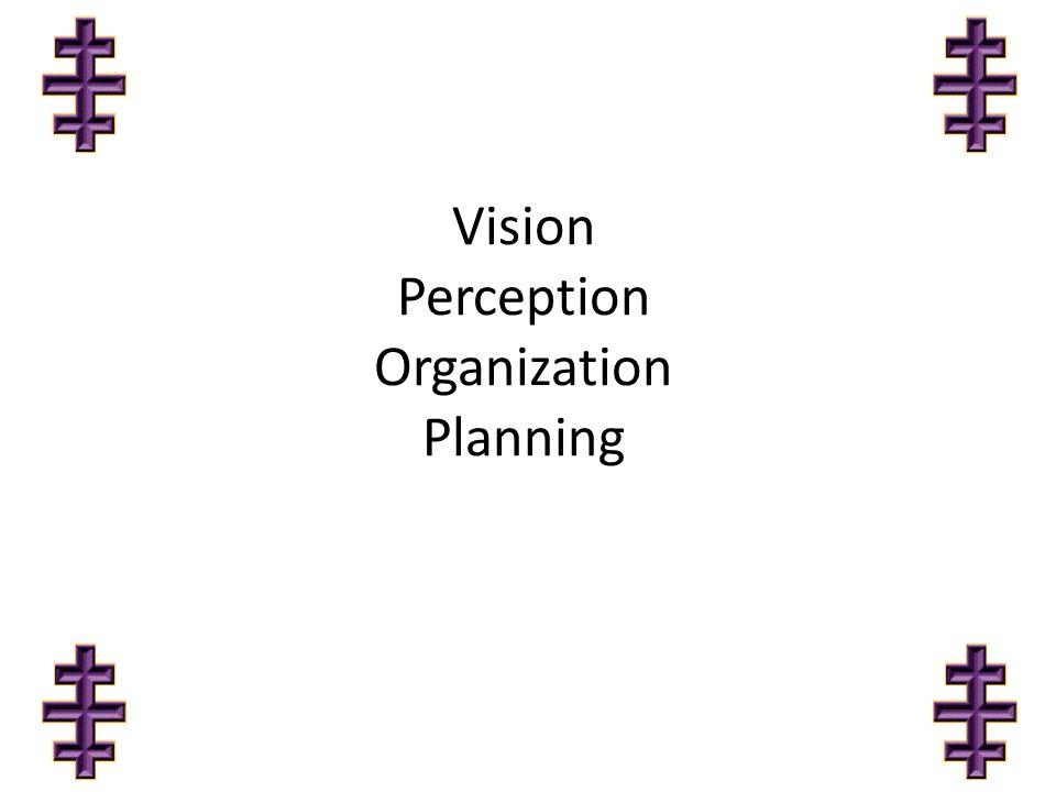 Vision Perception Organization Planning