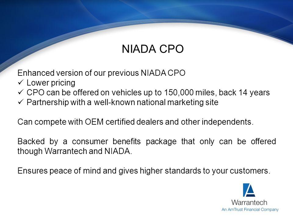 Why Choose a CPO Program.