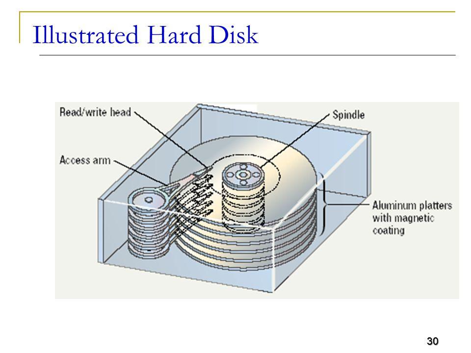 30 Illustrated Hard Disk 30