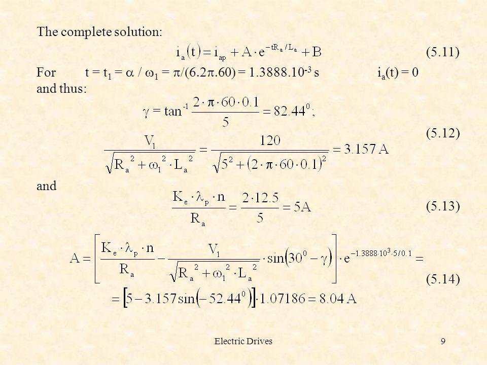 Electric Drives20 Figure 5.6.D.c.