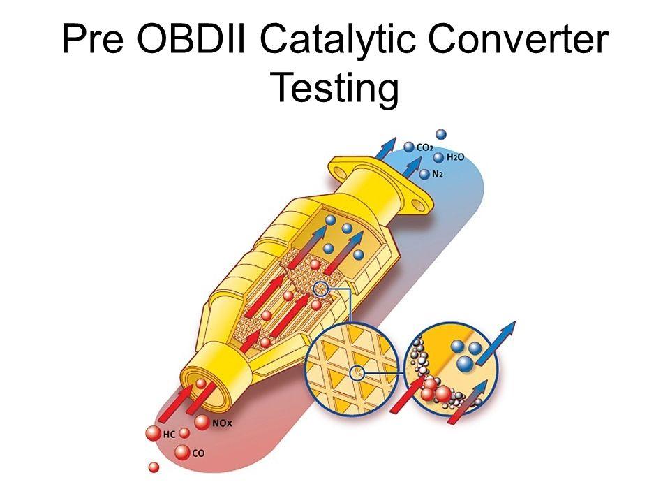 Pre OBDII Catalytic Converter Testing