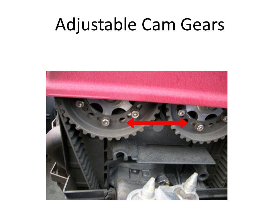 Adjustable Cam Gears
