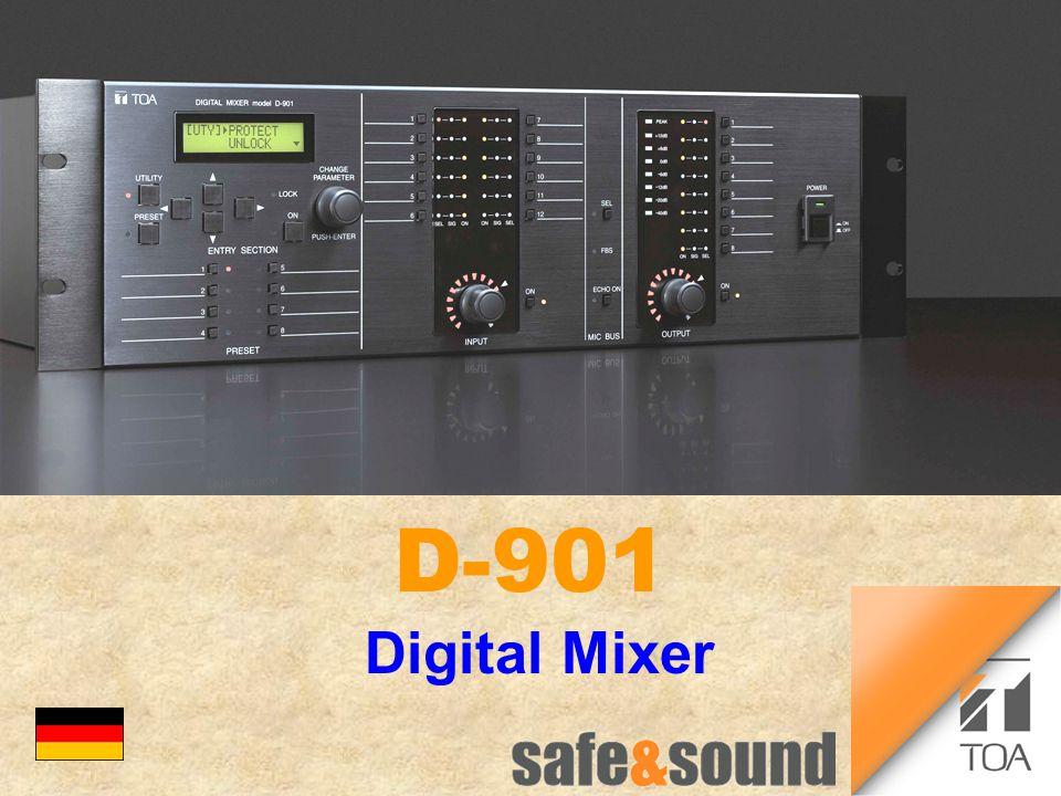 Digital Mixer D-901 bc