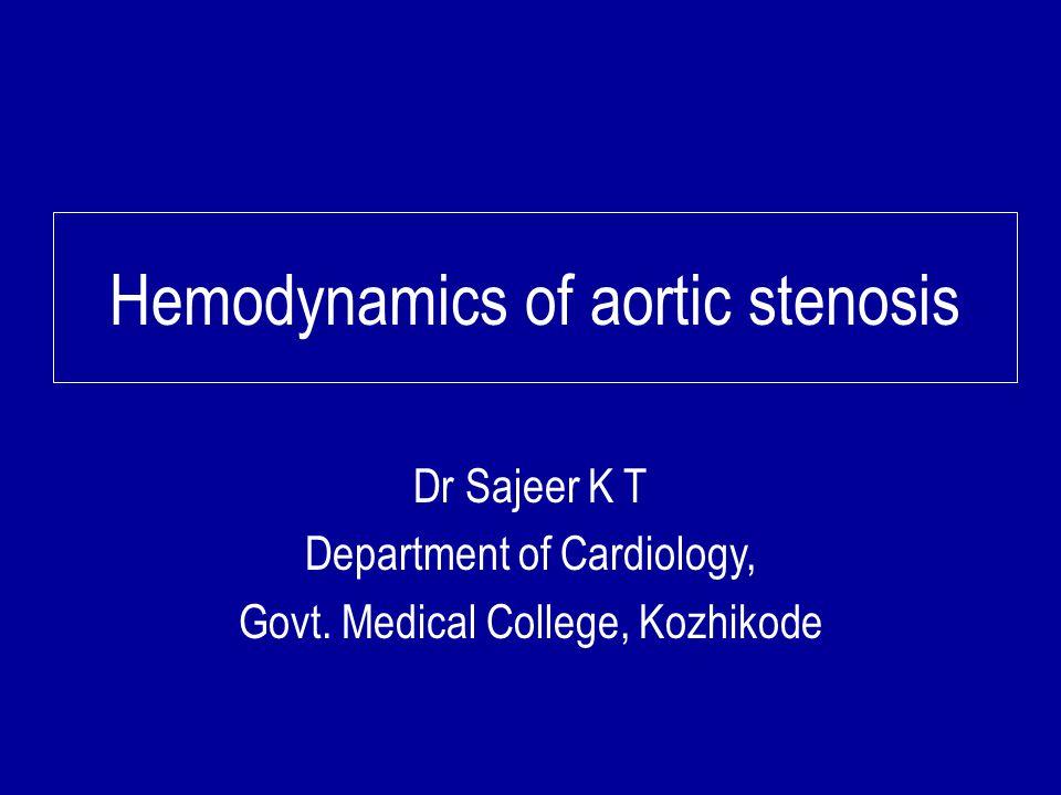 Aortic stenosis Etiology based on - level of obstruction to LVOT - Supravalvular - Valvular - Congenital AS - BAV ± calcification - Rheumatic - Senile degenerative - Subvalvular