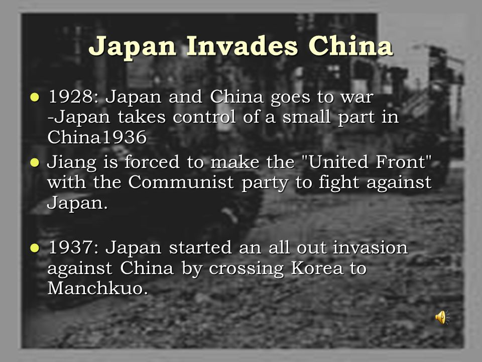 The Long March Civil War (1930): Mao Zedong (Communists) vs Jiang Jieshi (Nationalists) Civil War (1930): Mao Zedong (Communists) vs Jiang Jieshi (Nat