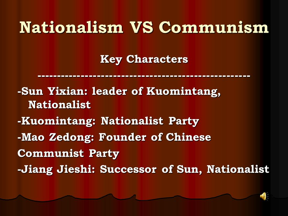 The Rise of Mao Zedong Jiang's government was a failure Jiang's government was a failure Peasants supported the Chinese Communist Party.