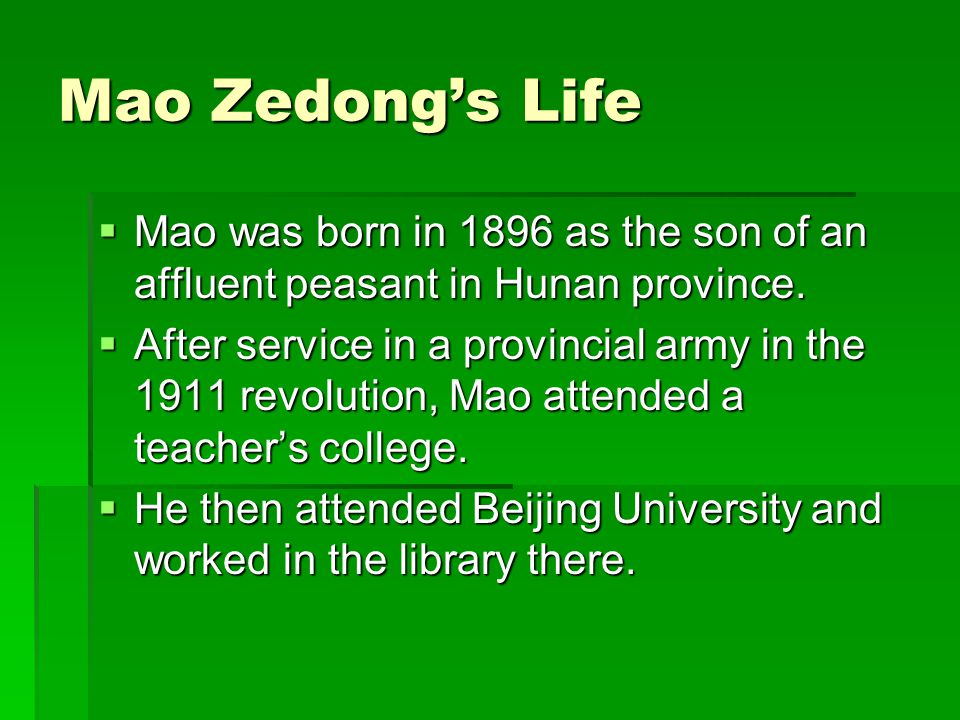 Assessing Mao, 3  Both movements asserted the power of the common people to make important social changes.
