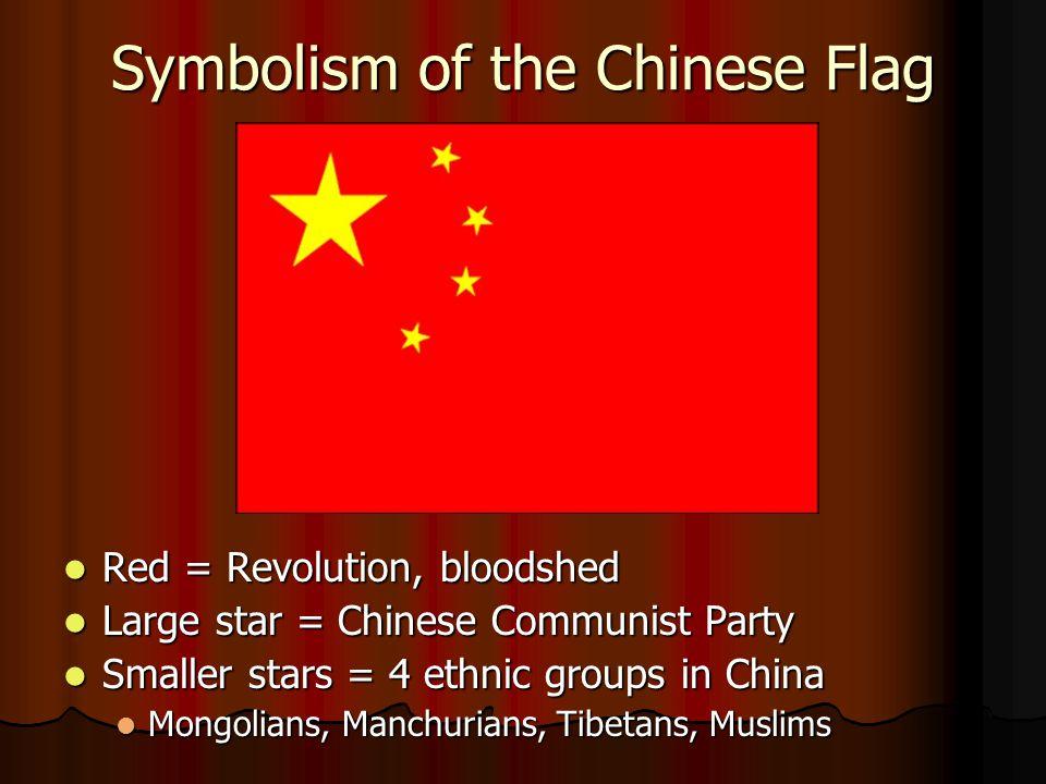 Flag of Communist China