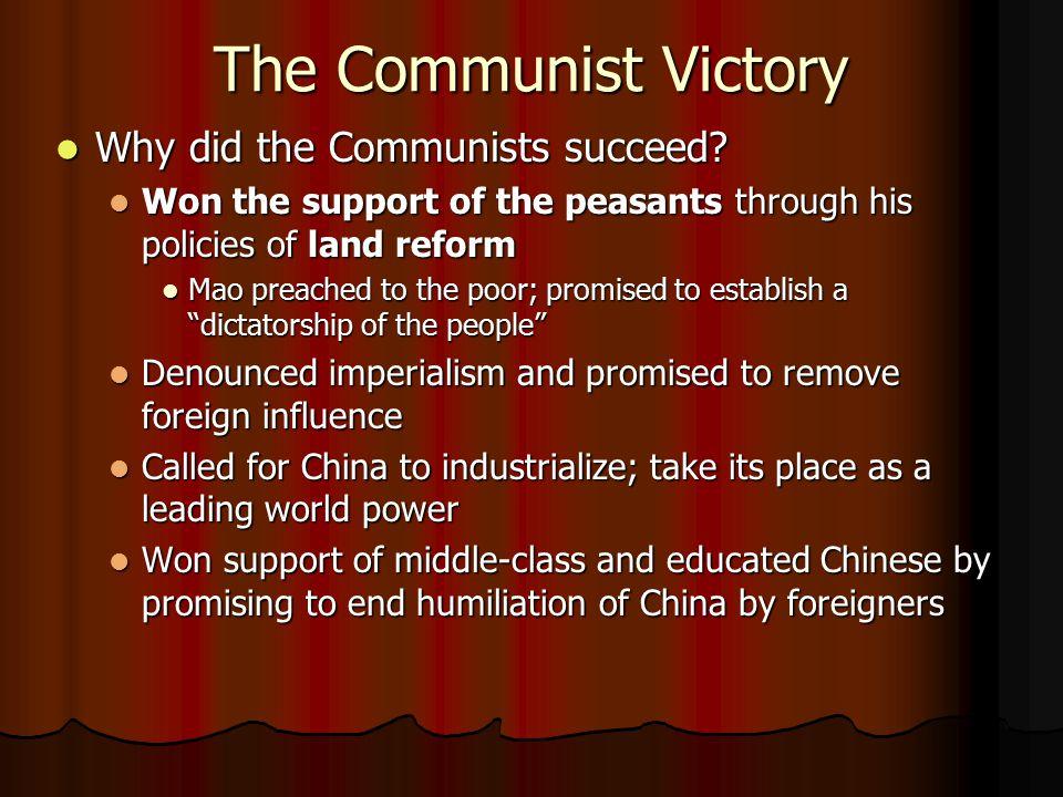 The Chinese Civil War (1945-1949)