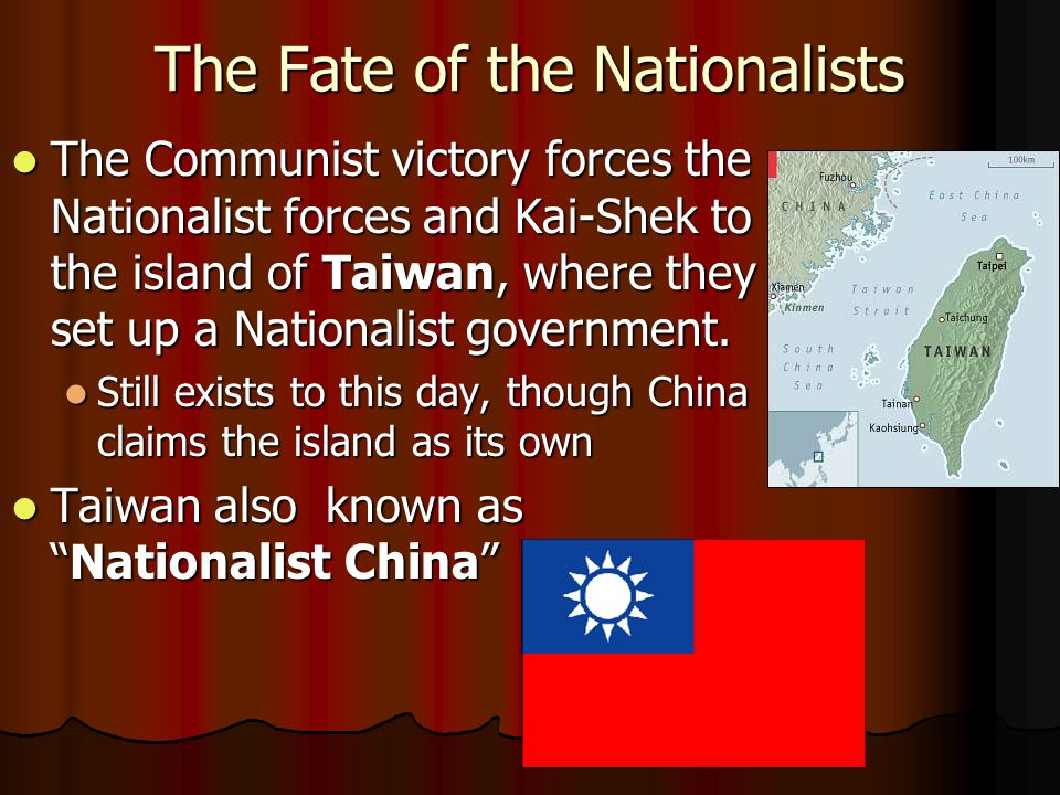 The Communist Victory Why did the Communists succeed.