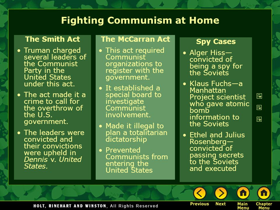 Joseph McCarthy and the Second Red Scare Joseph McCarthy was a senator who claimed that there were 205 known Communists working for the U.S.