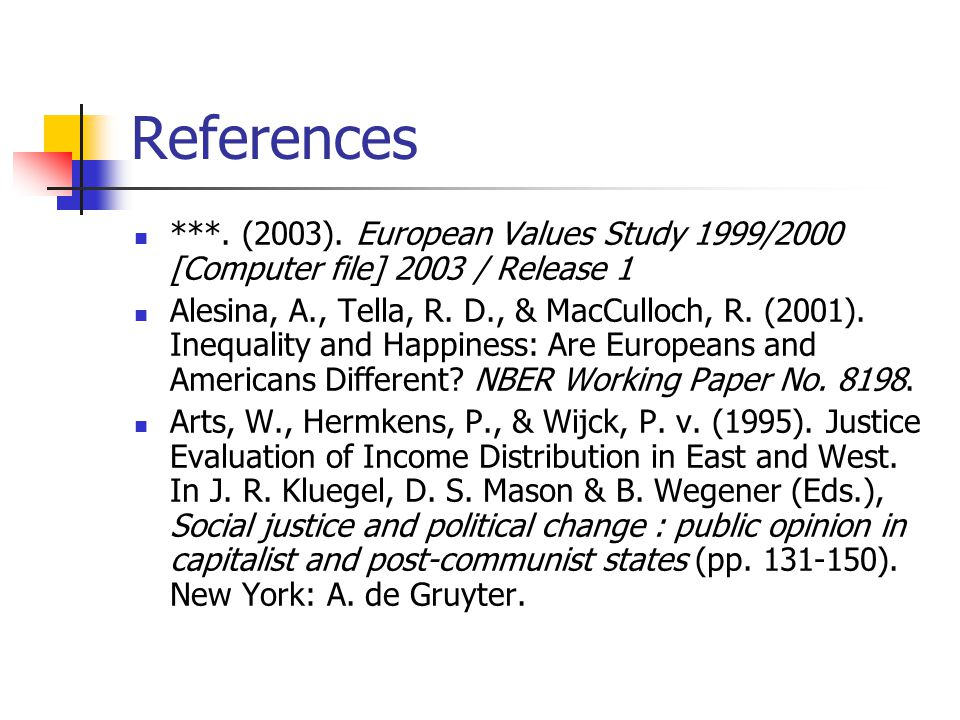 References ***. (2003).