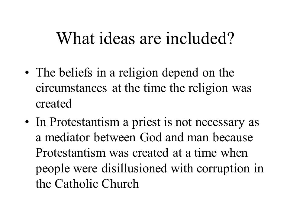 What ideas are included.Christianity arose within a well-established state, the Roman Empire.