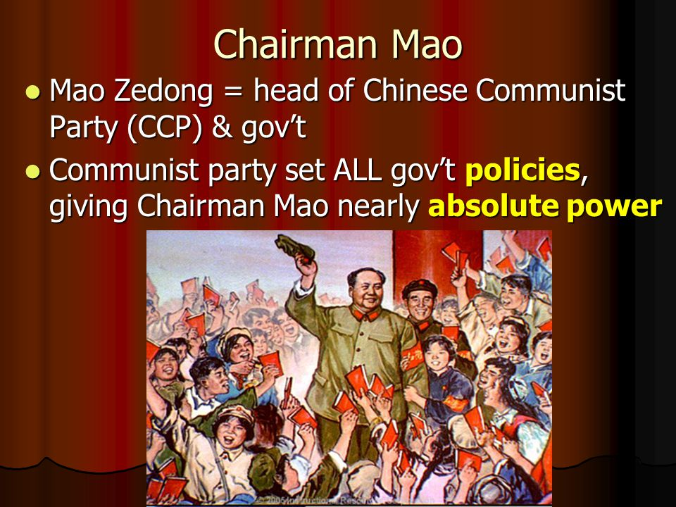 Communism's Goal The goal of communism is to make everyone as equal as possible, to have a classless society The goal of communism is to make everyone as equal as possible, to have a classless society There is no private ownership of property (ex.
