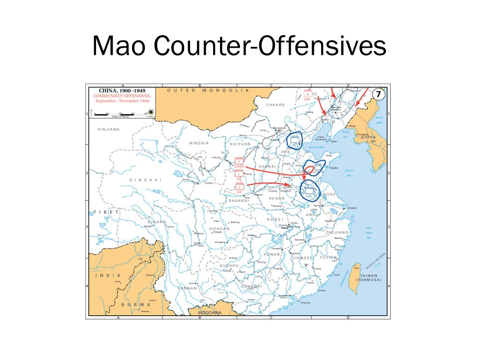 Mao Counter-Offensives