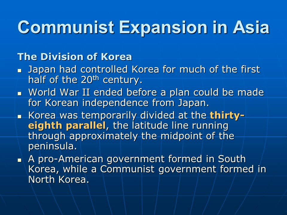 The Korean Conflict In June 1950, the Korean War broke out when North Korean troops invaded South Korea, aiming to reunite the nation by force.