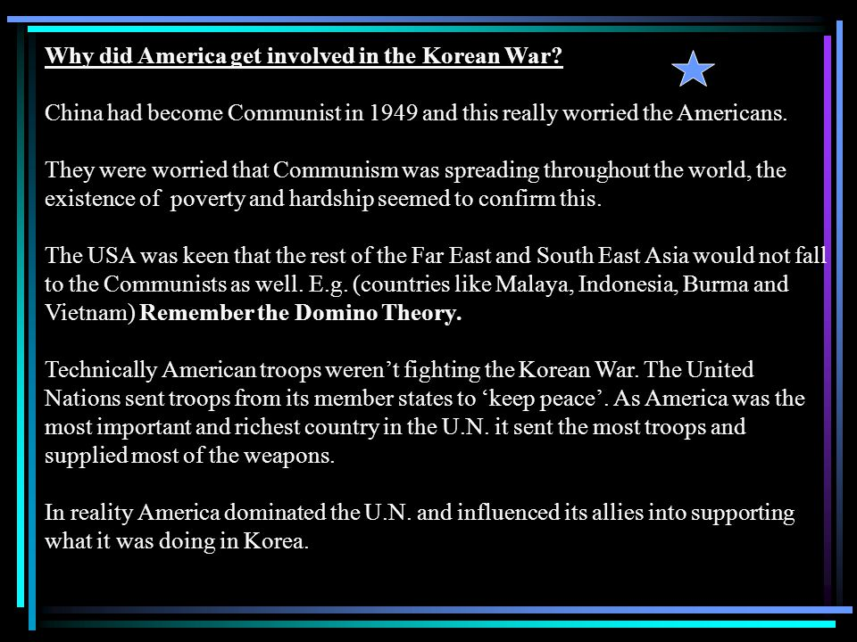 What were the Lessons of the Korean War.