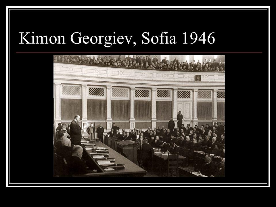Kimon Georgiev, Sofia 1946