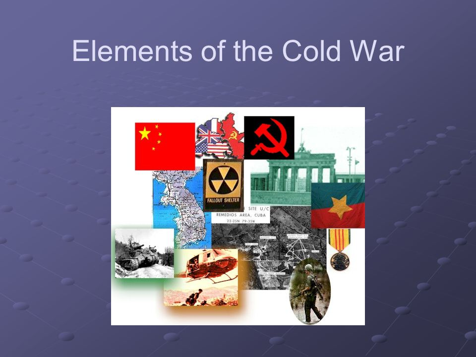 Elements of the Cold War