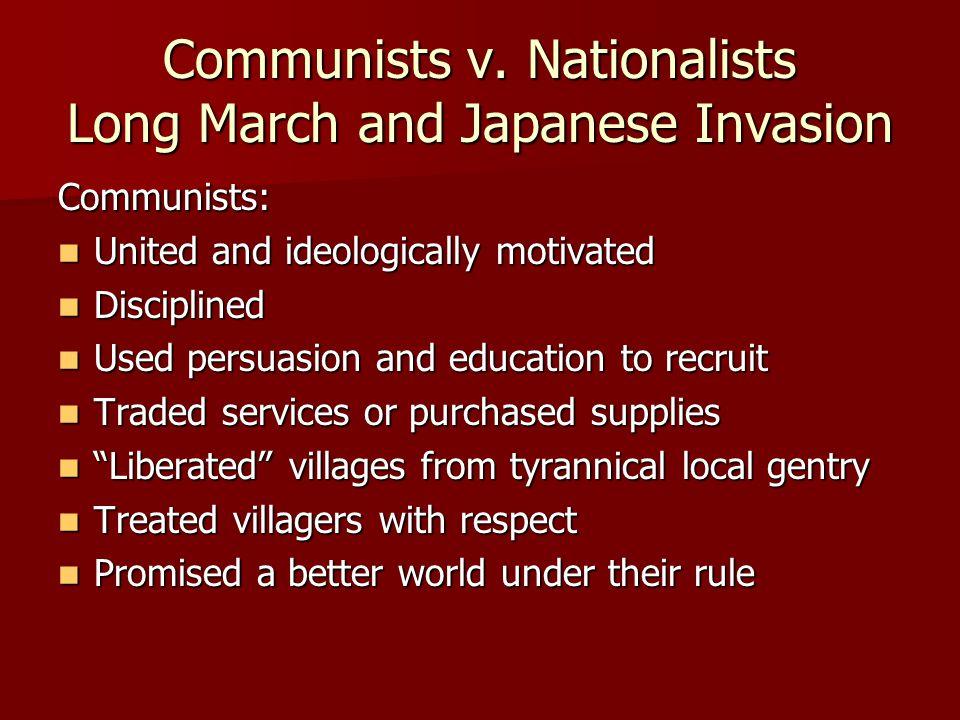 Communists v.