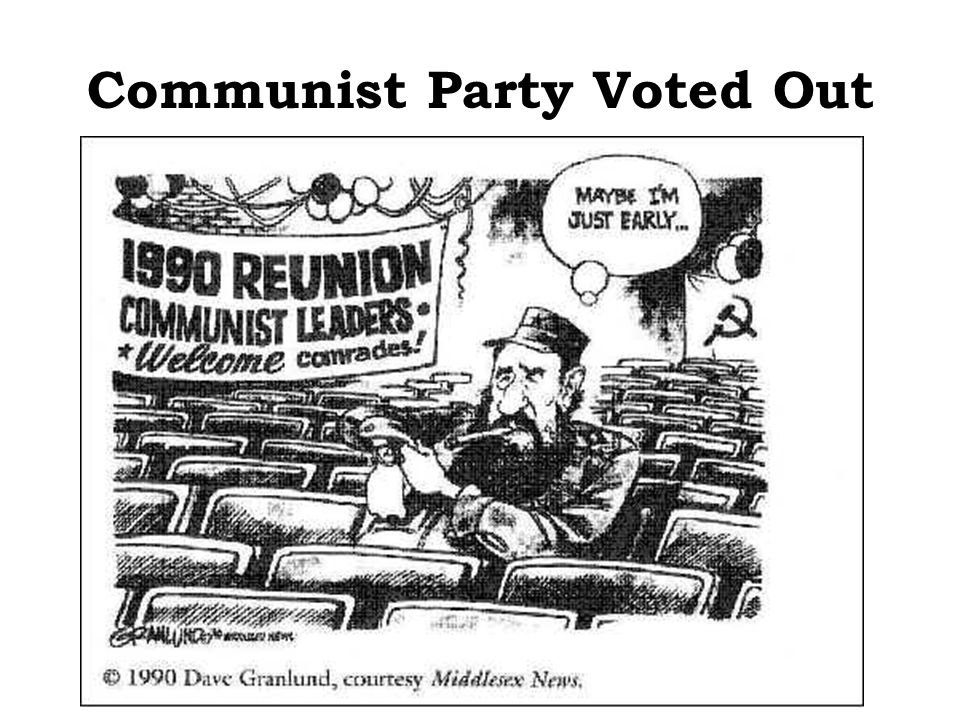 Communist Party Voted Out