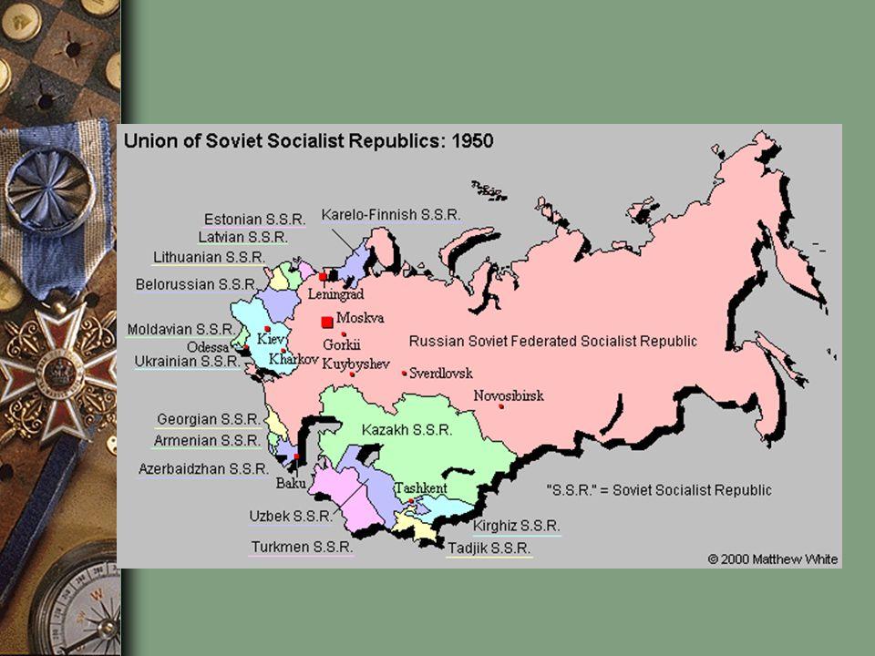 Union of Soviet Socialist Republics (U.S.S.R.), Vladimir Lenin and his followers created a new nation called the Union of Soviet Socialist Republics (U.S.S.R.), or the Soviet Union.