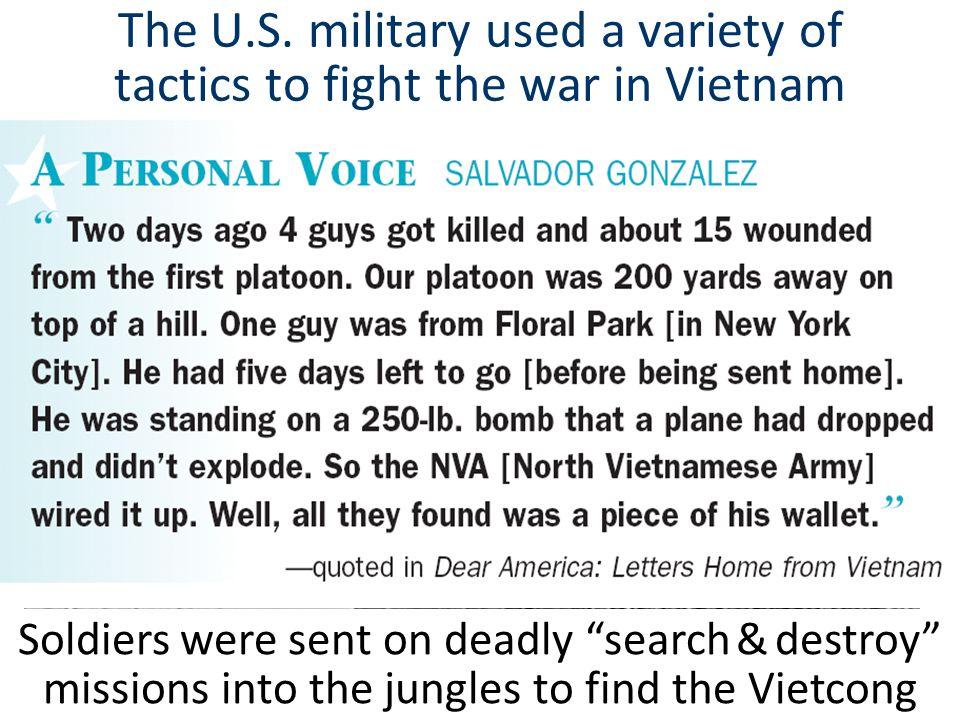 Despite overwhelming military superiority, the U.S.