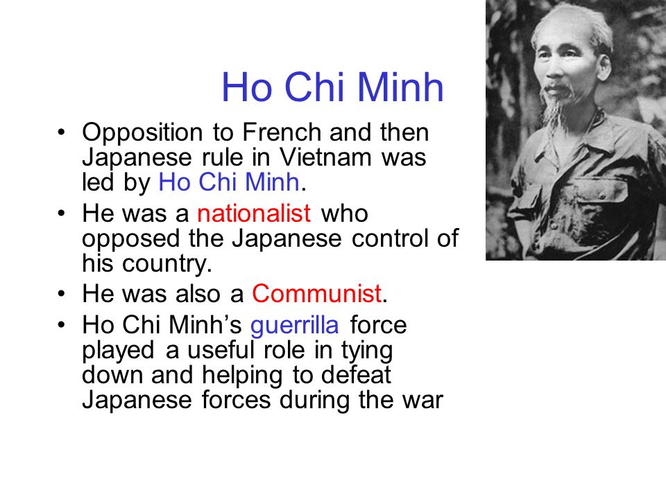 Johnson wanted a more aggressive war against the communists.He didn't think the South Vietnamese government would be able to keep the North Vietnamese out of the South.