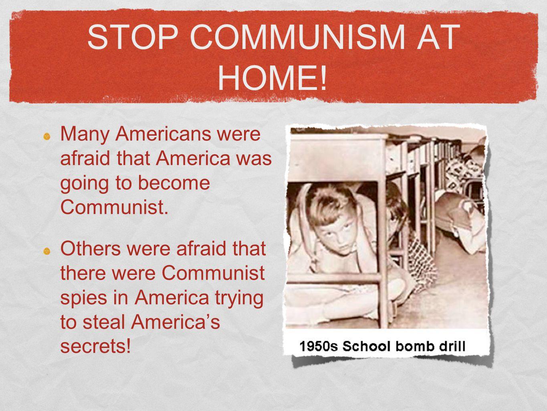 Capitalist vs. Communism