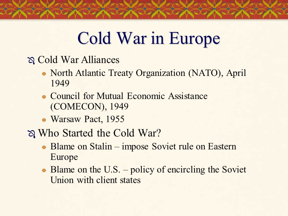 Ferment in Eastern Europe  Warsaw Pact - little Stalins ruled Eastern European  Soviet-type 5-year plans  heavy industry rather than consumer goods  Collectivization of agriculture,  Nationalization of industry  Elimination of all non-Communist parties  Institutions of repression: secret police and military forces  Discontent in Hungary, Poland, and Romania  Major protests in Poland in 1956