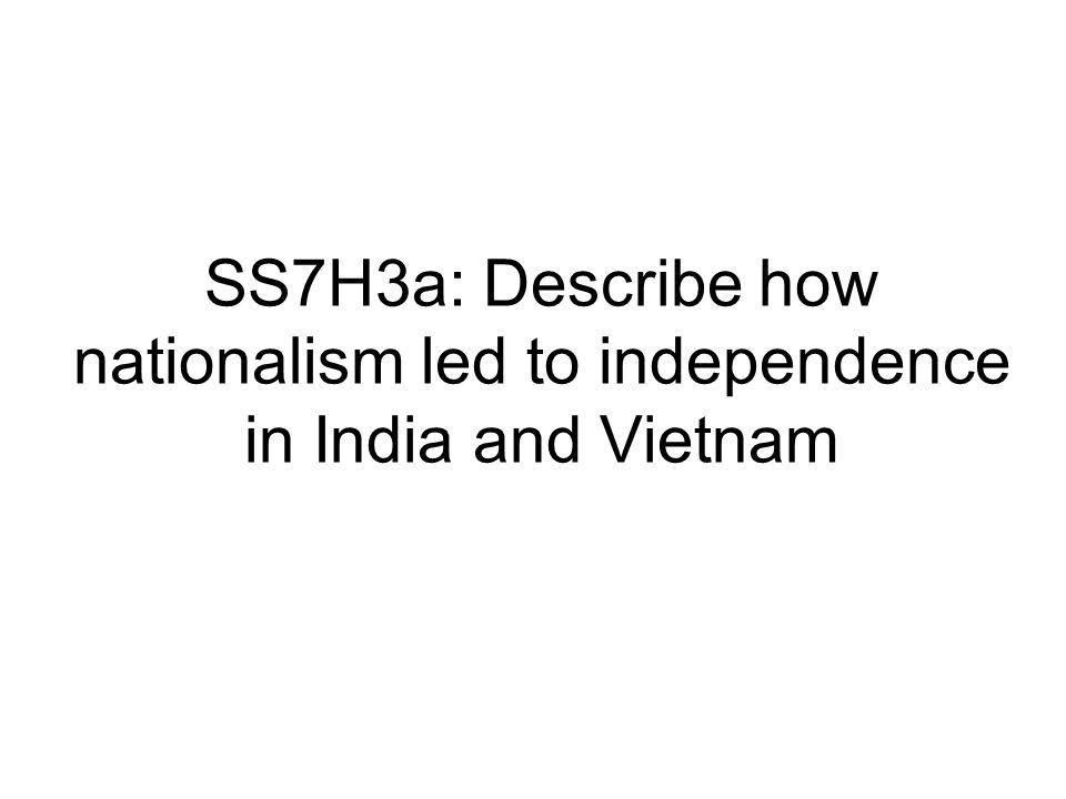 SS7H3b: Describe the impact of Mohandas Gandhi's belief in non-violent protest