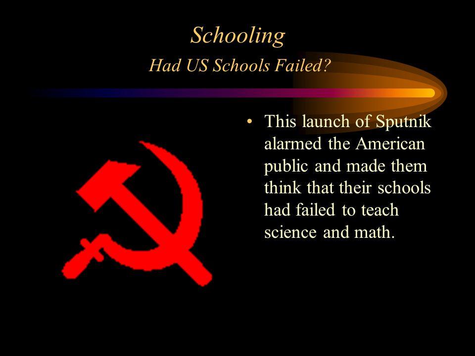 Schooling Had US Schools Failed.