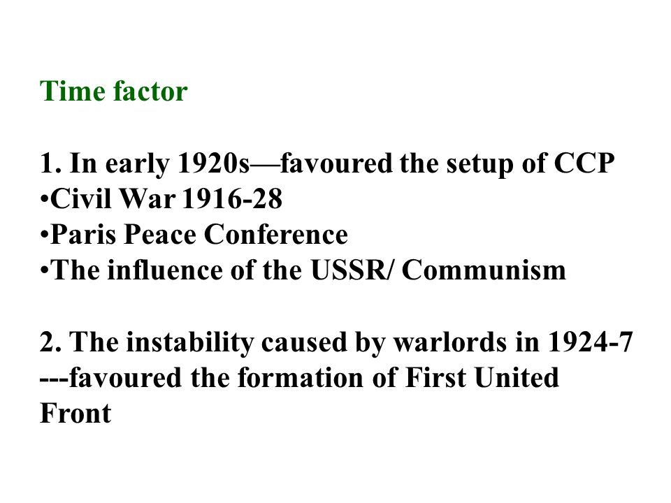8. Winning the Chinese Civil War 1945-9 US sent Marshall to mediate the coalition Government but collapsed in 1946. 1947, People Liberation Army conti