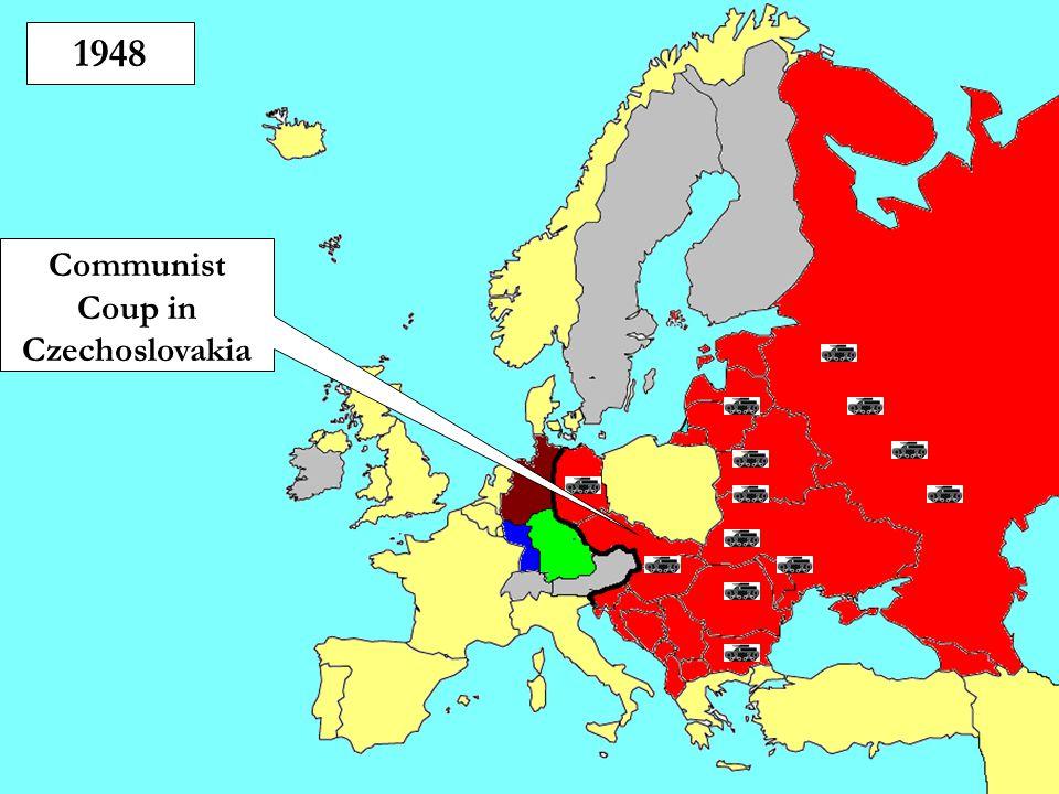 1948 Communist Coup in Czechoslovakia