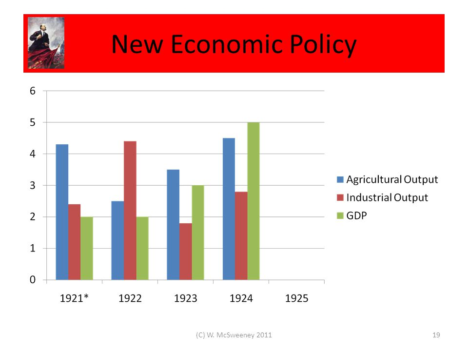 New Economic Policy 19(C) W. McSweeney 2011
