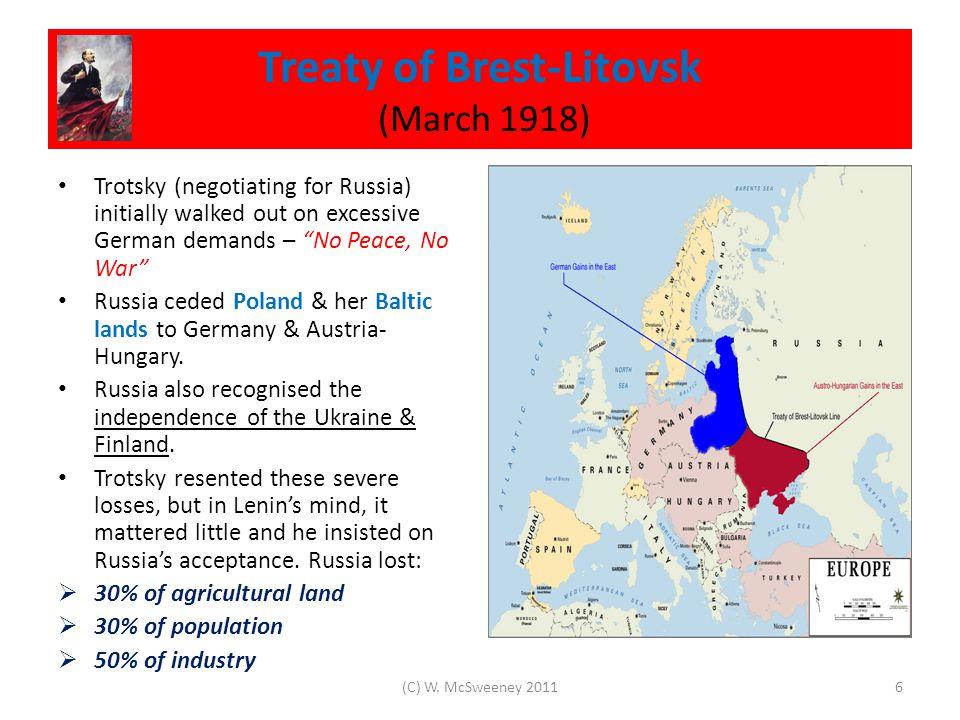 Consolidating Bolshevik Control 1918 – 1920 Once in power, Lenin & the Bolsheviks began seizing businesses, banks & property.