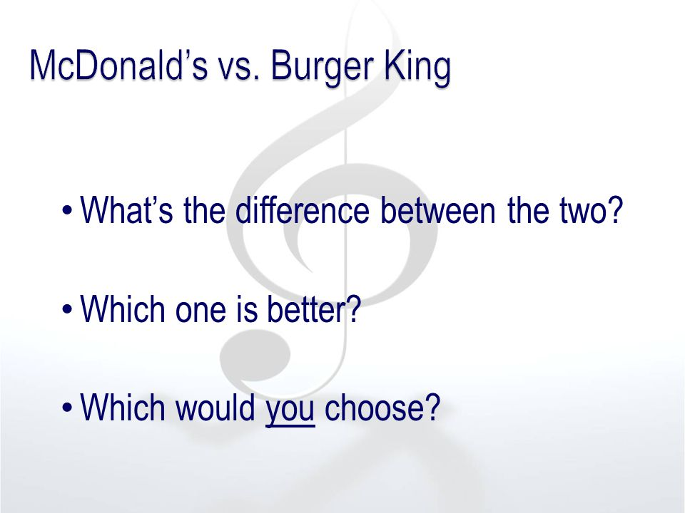 What's the difference between the two? Which one is better? Which would you choose?