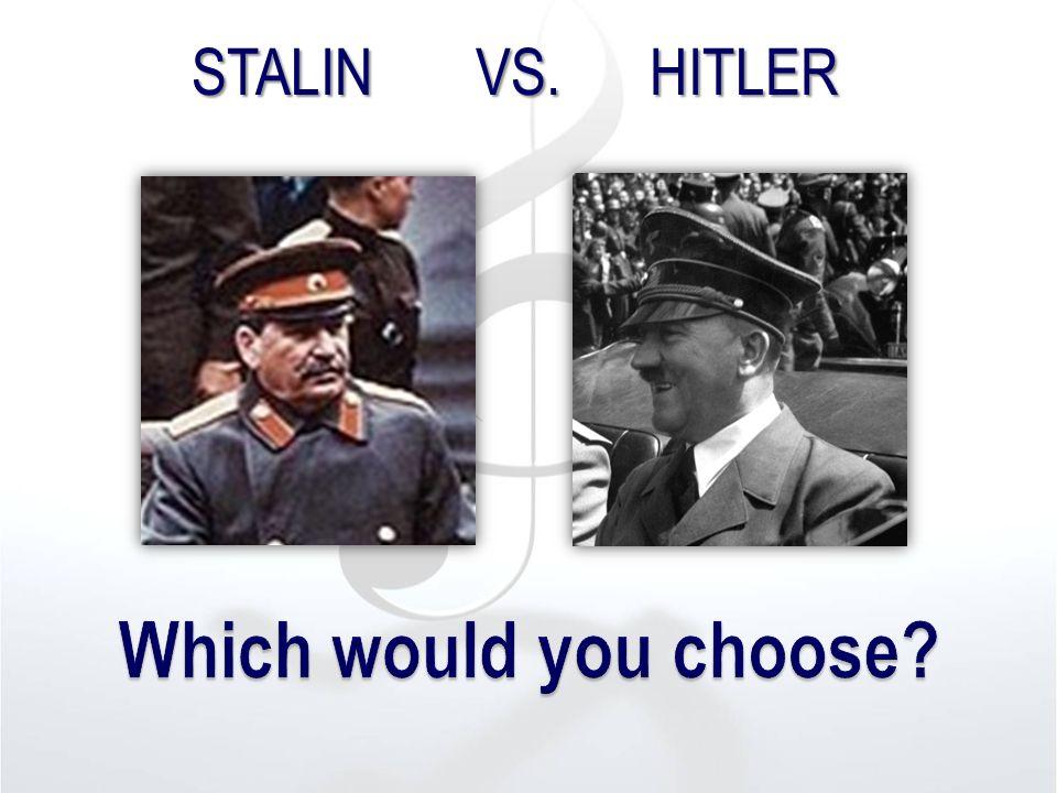 STALIN VS. HITLER
