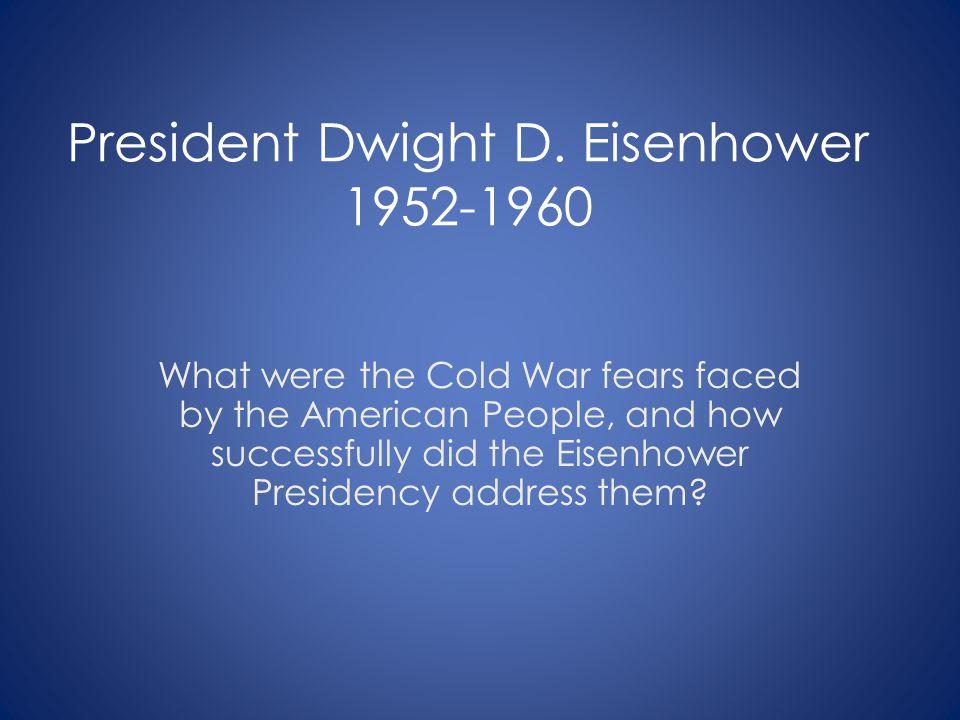 President Dwight D.