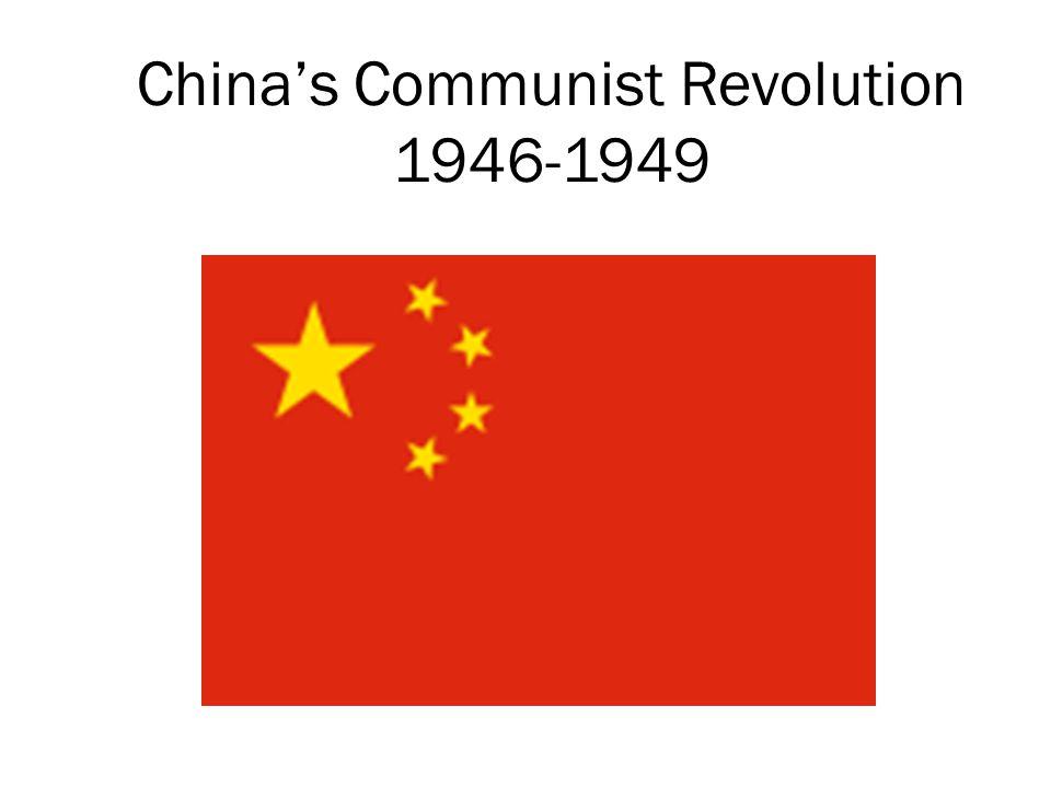 China's Communist Revolution 1946-1949