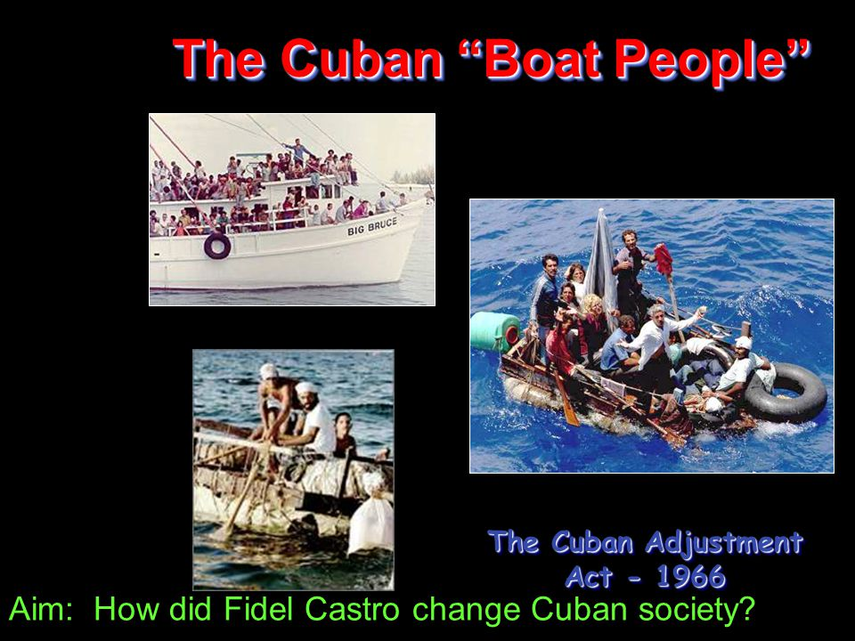 Aim: How did Fidel Castro change Cuban society.