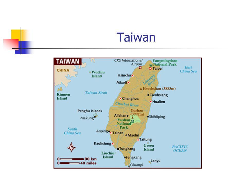 Taiwan vs. China NationalistsCommunist